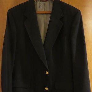Hart Schaffner Marx navy blazer, 42R euc